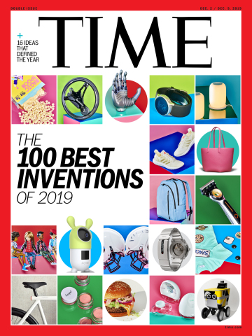 Roybi Robot Featured on TIME Magazine Cover (Graphic: Business Wire)