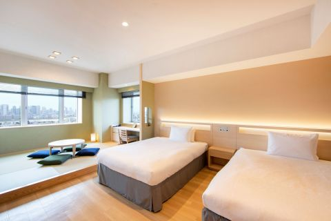 Panorama Grande Room with Tatami: Floor area 42.5 square meters (Photo: Business Wire)