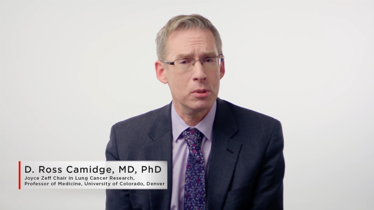 Understanding the ALTA-1L Trial and Second Interim Analysis Results: D. Ross Camidge, M.D., Ph.D., Joyce Zeff Chair in Lung Cancer Research, Professor of Medicine, University of Colorado Cancer Center, Denver