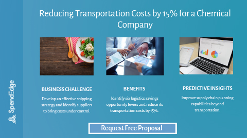 Reducing Transportation Costs by 15% for a Chemical Company.