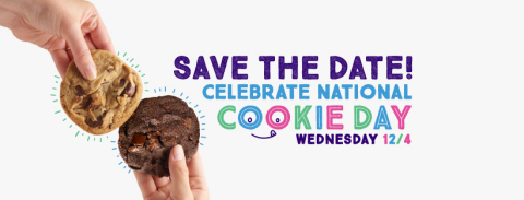 Celebrate National Cookie Day at Insomnia Cookies with Free Cookies in-store (Photo: Business Wire)