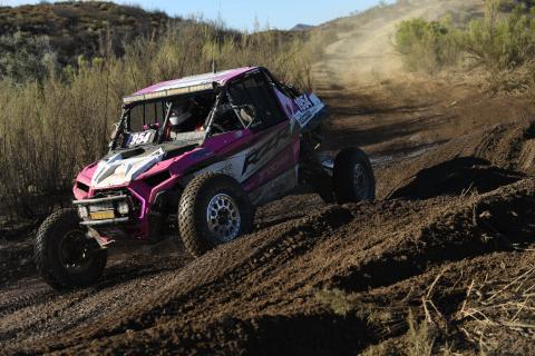 Kristen Matlock racing in the Baja 1000 (Photo: Business Wire)