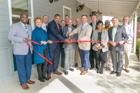 A $120,000 Affordable Housing Program grant from The First, A National Banking Association and FHLB Dallas will help families purchase new and renovated affordable homes in Covington's West 30's neighborhood. (Photo: Business Wire)