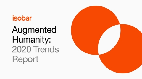 Augmented Humanity: Isobar 2020 Trends Report (Graphic: Business Wire)