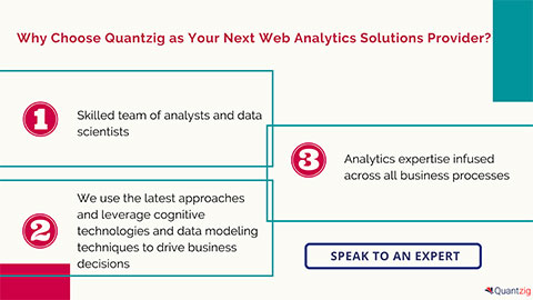 Why Choose Quantzig as Your Next Web Analytics Solutions Provider?