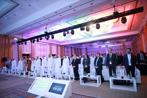 A significant international presence of government leaders, institutions, experts, vehicle manufacturers and technology developers at the conference hosted by the Emirates Authority for Standardization and Metrology (ESMA). (Photo: AETOSWire)