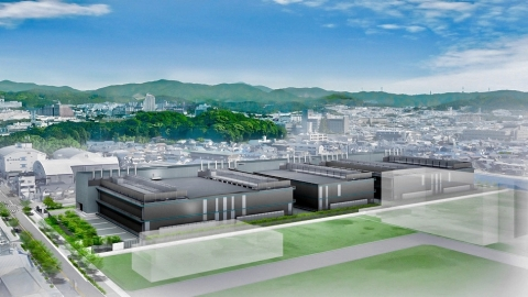 Rendition of Osaka 7 Data Center (Graphic: Business Wire)
