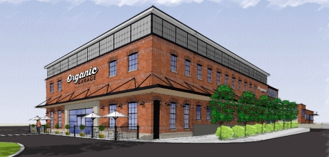 Rendering of Organic Garage's Leaside location (Graphic: Business Wire)