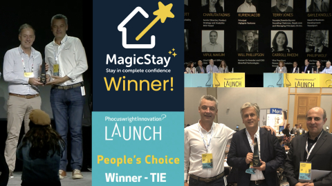A special prize for a special team! #MagicTeam (Photo: Business Wire)