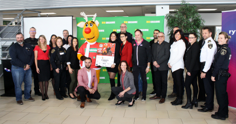 Operation Red Nose and HGregoire will team up with various partners in the regions of Montreal, Laval, and the Lower Laurentians to make our roads safer as the holiday season approaches.