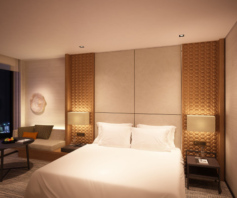 Guestroom at Park Hyatt Doha (Photo: Business Wire)