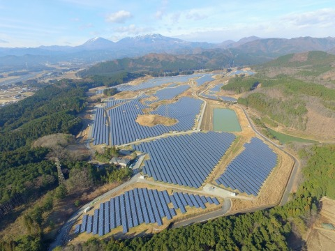 Kinugawa Forest Solar Power Plant (Photo: Business Wire)