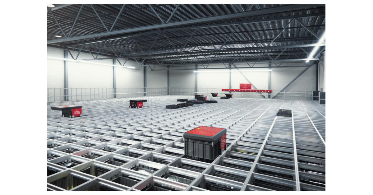 Autostore Set To Transform Retail Industry With Robotic Cube Storage System Business Wire