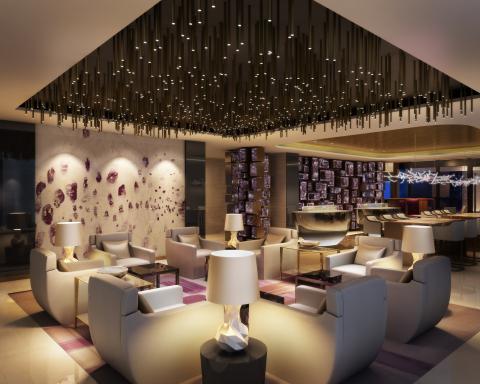 Sora lounge at Park Hyatt Doha (Photo: Business Wire)