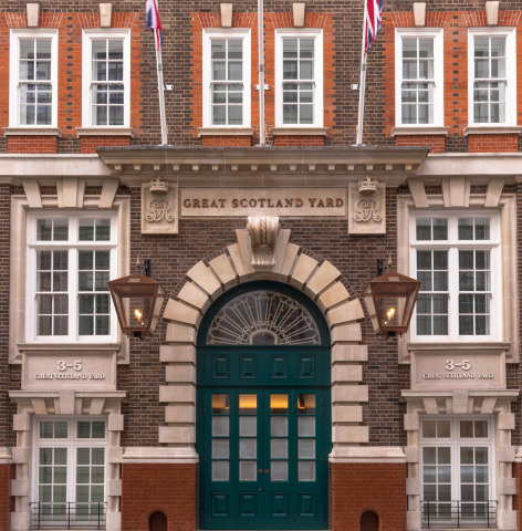 Exterior of Great Scotland Yard (Photo: Business Wire)