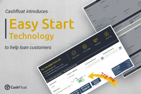 Cashfloat's 'Easy-Start' Technology gives customers more time to pay their loan at no extra cost. (Photo: Business Wire)