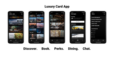 Luxury Card App (Photo: Business Wire)