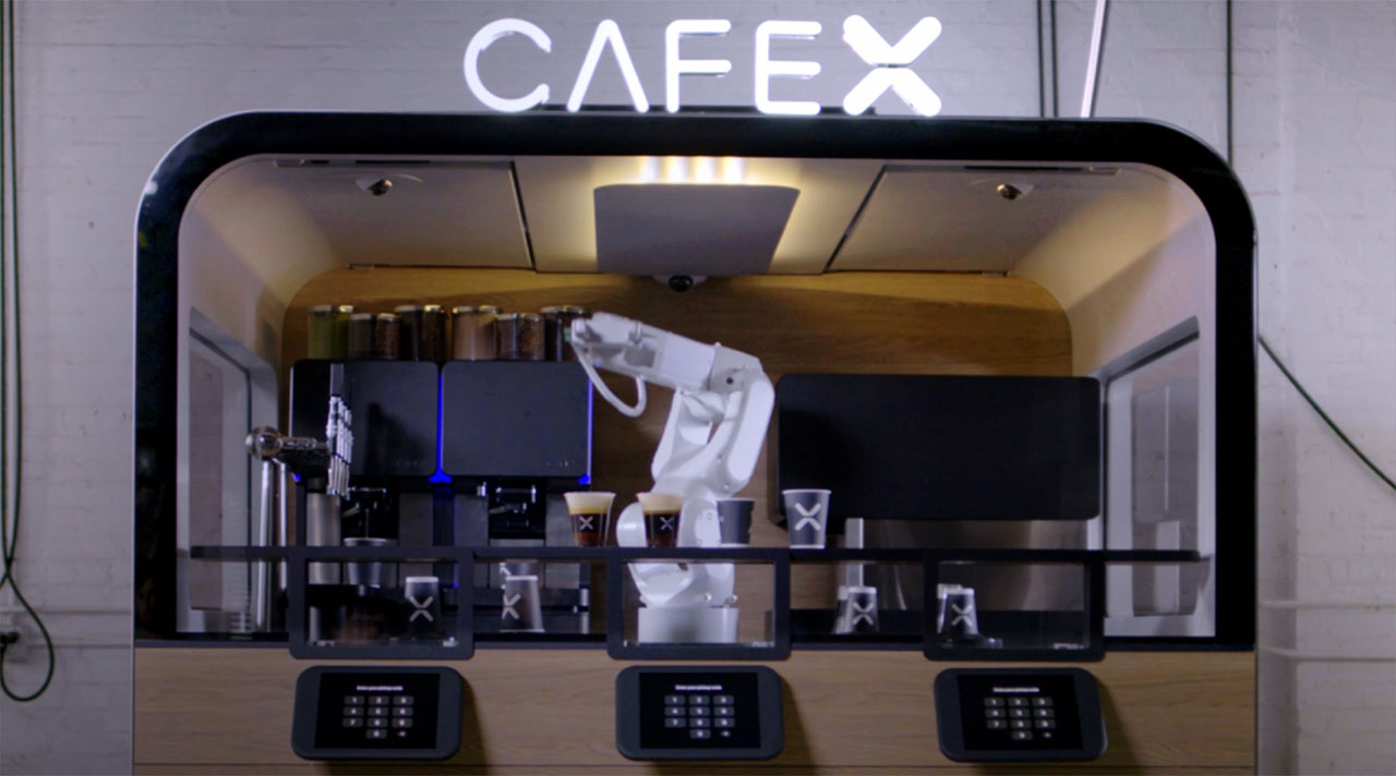 The New Robotic Coffee Bar