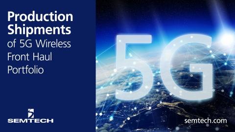 Semtech 5G Wireless (Graphic: Business Wire)