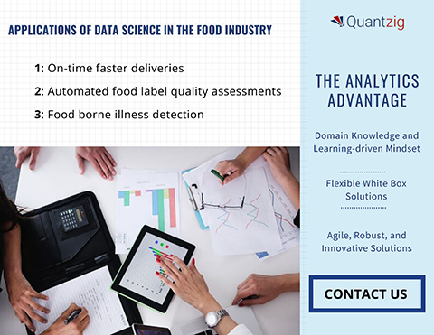Applications of Data Science in the Food Industry