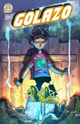 The cover of the first issue of Golazo, the latest all-ages title from Neymar Jr. Comics. (Graphic: Business Wire)