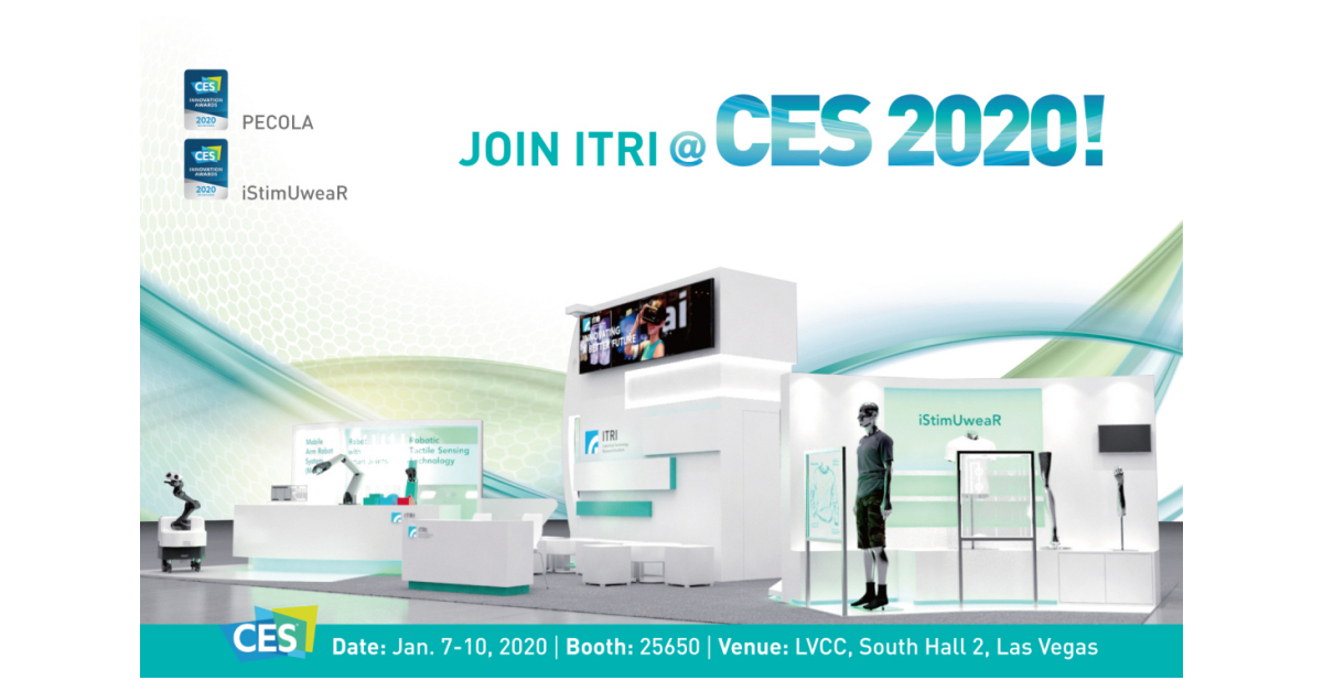 ITRI Exhibits Artificial Intelligence (AI) & Robotics and Digital Health Technology Innovations at CES 2020 thumbnail