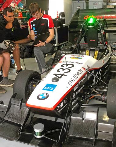 During the 2019 Formula Student, Velodyne Lidar, Inc. contributed sensors to 20 university teams across Europe. (Photo: Velodyne Lidar)