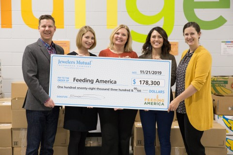 Feeding America Donation (Photo: Business Wire)
