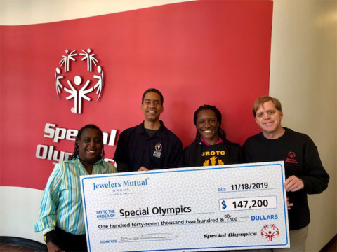 Special Olympics Donation (Photo: Business Wire)