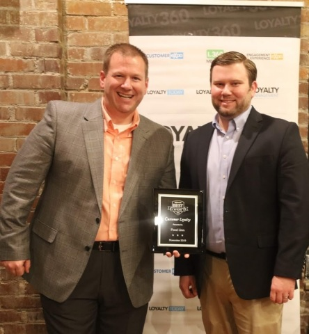 Neil Norman, director of customer loyalty for Food Lion, accepts Loyalty360 award (Photo: Business Wire)