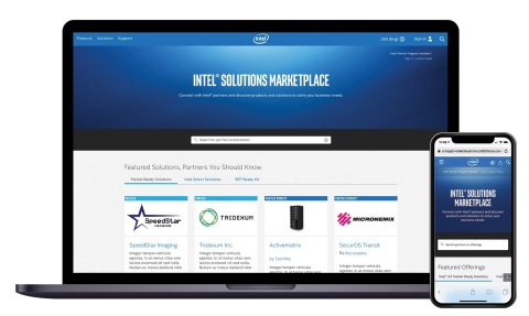 Intel Corporation in December 2019 launches the Intel Solutions Marketplace, a platform to help partners deploy solutions in a complex, data-centric economy. (Credit: Intel Corporation)