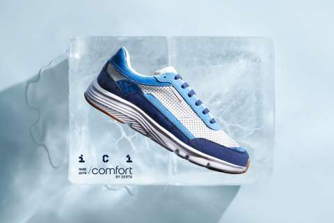 Coolest Kicks: Serta and DJ Clark Kent Turn the New iComfort Mattress into a Limited-Edition Sneaker (Photo: Business Wire)