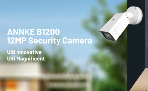 ANNKE B1200 12MP Security Camera (Photo: Business Wire)