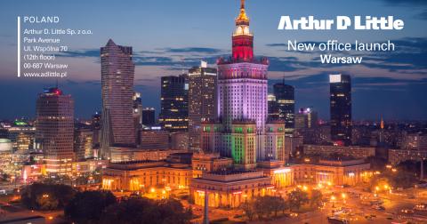 La Consultora Global de Dirección Global, Arthur D. Little, inaugura su oficina en Polonia como parte de su estrategia de crecimiento (Graphic: Business Wire)