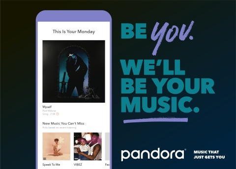 Discover The All-New Pandora: All New. All Improved. All You. (Graphic: Business Wire)