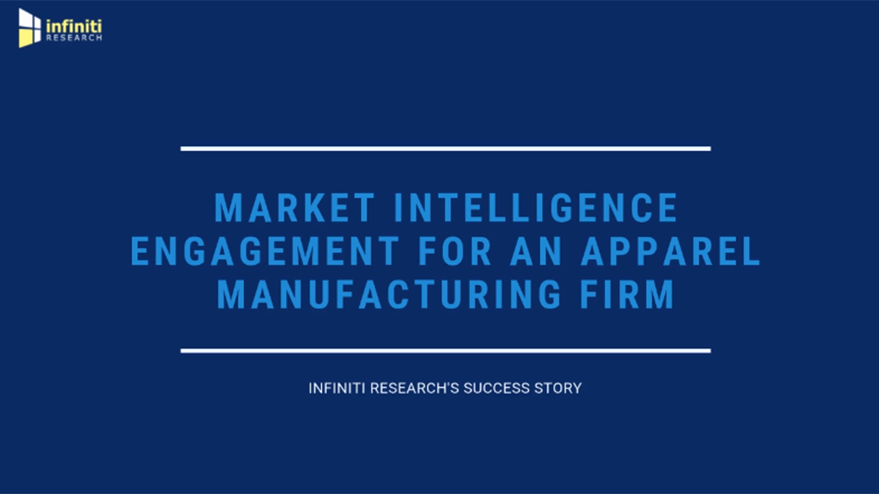 Infiniti Helped an Apparel Manufacturing Company to Sign a $1.2 Million Deal with One of the Leading E-Commerce Companies in the US