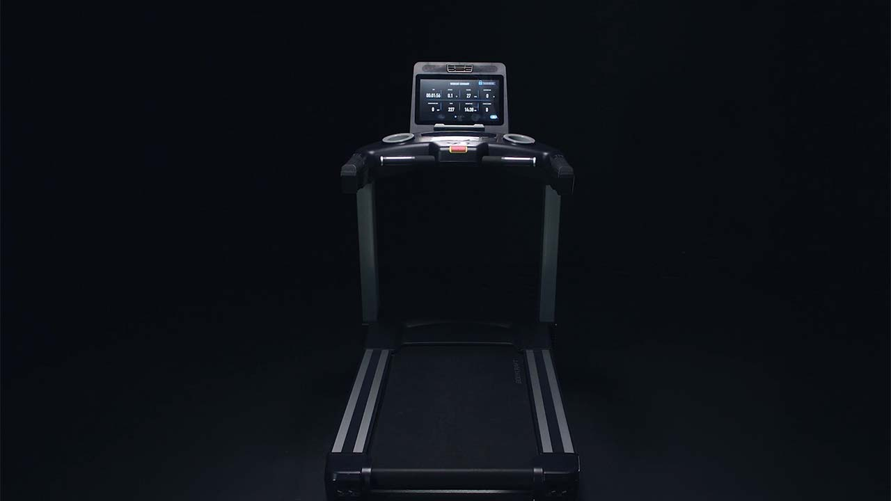 Check out the new BodyCraft Experience-series treadmills, the only open-platform entertainment treadmills currently on the market.