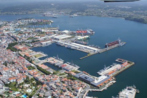 The Navantia shipyard in Spain (Photo: Business Wire)
