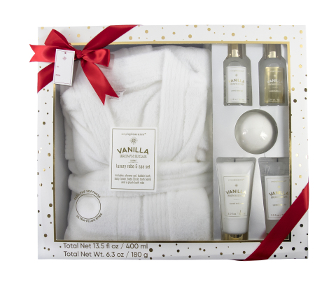 BJ's Wholesale Club helps members have a stress-free holiday with gifts under $20 including the Simple Pleasures Luxury Robe and Spa Set. (Photo: Business Wire)