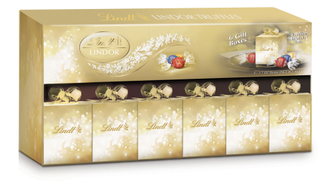 BJ's Wholesale Club helps members check off everyone on their list without breaking the bank with a large selection of multipack gifts that can easily be broken apart including the Lindt Lindor Party Favor Gift Box Multi Pack, 6 ct. (Photo: Business Wire)