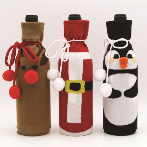 BJ's Wholesale Club helps members check off everyone on their list without breaking the bank with a large selection of multipack gifts that can easily be broken apart including Wine Bottle Socks, 3 pk. (Photo: Business Wire)