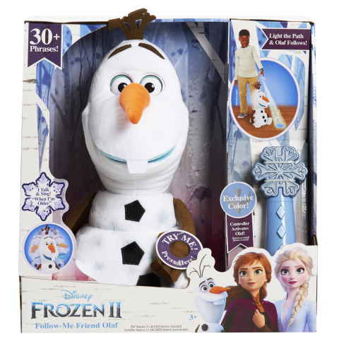 BJ's Wholesale Club is making spirits bright with amazing savings on this year's hottest gifts, including the Disney Frozen 2 Follow-Me Olaf with BJ's Exclusive Colored Remote (Photo: Business Wire)