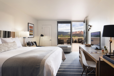 Sky Rock Inn of Sedona radiates Red Rocks and now welcomes visitors. (Photo: Business Wire)