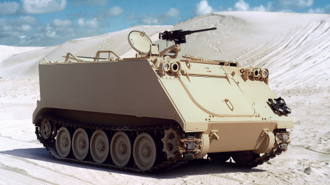 Allison Transmission partners with Army again to include the Allison X200-4A propulsion solution in the M113 Armored Personnel Carrier family of vehicles. (Photo: Business Wire)