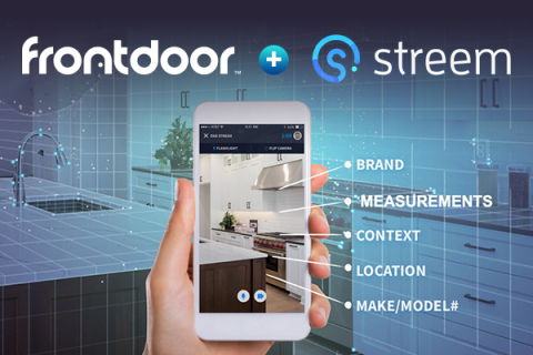 Frontdoor announces its acquisition of Streem, a Portland-based technology startup that uses enhanced augmented reality, computer vision and machine learning to help home services professionals more quickly and accurately diagnose breakdowns and complete repairs. (Photo: Business Wire)
