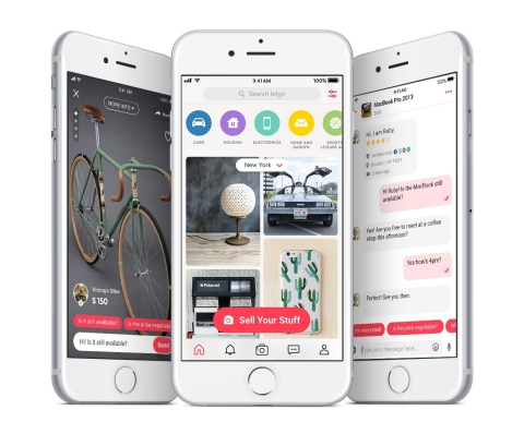 letgo's free app makes it simple to buy and sell locally. (Photo: Business Wire)
