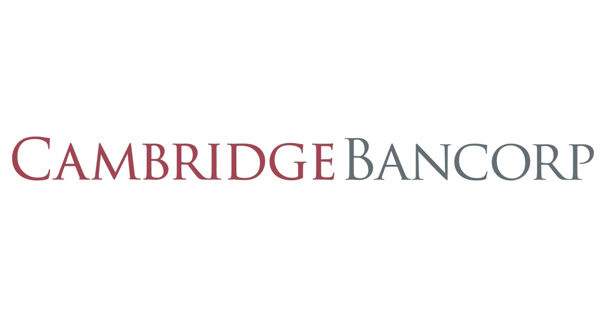 Cambridge Bancorp Announces Proposed Public Offering of $35 Million of Its Common Stock