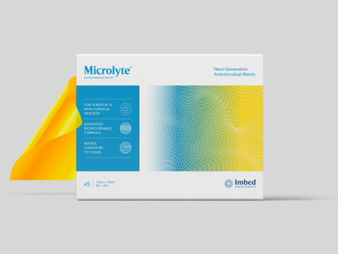 Microlyte Matrix is a bioresorbable antimicrobial matrix indicated for the management of burns, surgical wounds and chronic ulcers. (Photo: Business Wire)