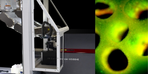 Integrated biofabrication system used to produce and scan thick, vascularized 3D liver tissue models (Photo: Business Wire)