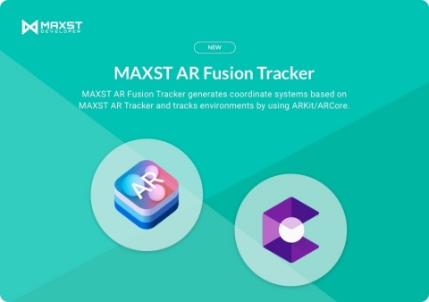 MAXST releases new MAXST AR Fusion Tracker that combined its AR SDK (Software Development Kit) with AR technologies of Google and Apple. MAXST AR Fusion Tracker is provided in the MAXST AR SDK version 5.0. MAXST maximized its recognizing and tracking performance through AR Fusion Tracker. The MAXST AR Fusion Tracker can place contents in the exact location relative to the target by utilizing the excellent environment tracking performance of Google ARCore and Apple ARKit. This technology is useful in AR navigation and industrial sites, which required virtual contents to be placed accurately in a large space. (Graphic: Business Wire)